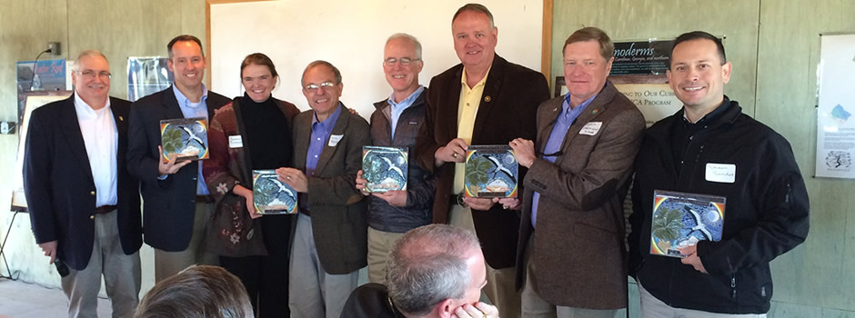 South Carolina partners receive the National Joint Venture Conservation Champion Award.